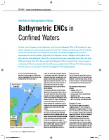 Bathymetric ENCs in Confined Waters