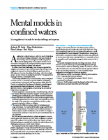 Sharing Mental Models in Confined Waters